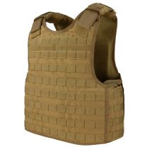 Military Coyote Brown Defender Plate Carrier