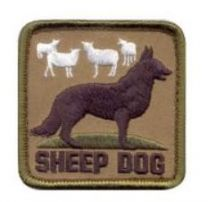 Perfect Sheep Dog Patch | Buy Now